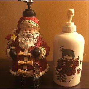 Christmas - Soap Dispencers